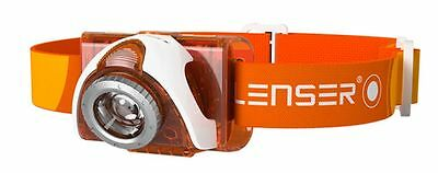 Lampada Frontale Da Testa Seo 3 Orange Led Lenser Pesca 100 Lumen Headlamp