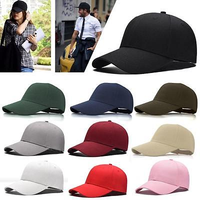 Men's Fashion Cap bboy Hip Hop adjustable Baseball Snapback Hat Multi Colors UX