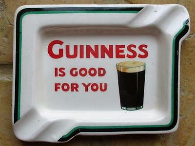 Guinness Is Good For You Arklow Pottery Ashtray Ga 562B