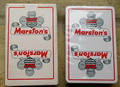 Marstons Brewery Wolverhampton Sealed Pack Playing Cards