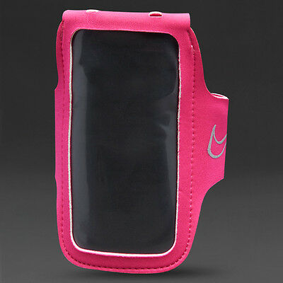 Nike Lightweight Arm Band 2.0 – Vivid Pink/silver – Phone Holder Storage Running