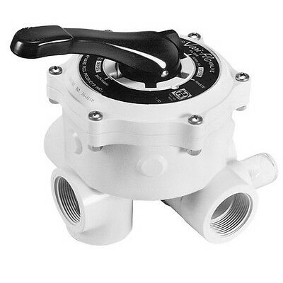 """Hayward Pro-Series Vari-Flo Replacement 1-1/2"""" Control Valve Assembly with Gauge"""