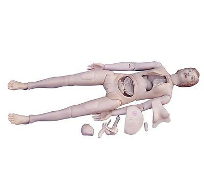 New Advanced Multifunctional Human Patient Care Nursing Training Manikin Model
