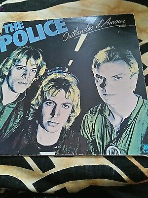 "The police vinyl. ""Outlandos d' amour"""