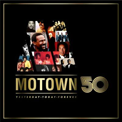 Various Artists - Motown 50 - Various Artists CD WMVG The Fast Free Shipping