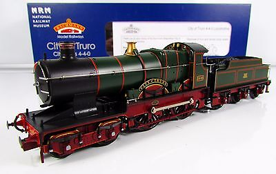 OO Gauge Bachmann 31-725NRM City Class Loco 3440 City Of Truro GWR Monogram NRM