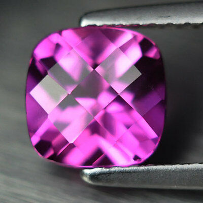 2.05ct.EXCELLENT PINK SAPPHIRE CUSHION LOOSE GEMSTONE