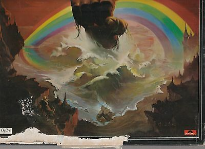Rising by Rainbow 1976 2nd press of Original UK Vinyl LP