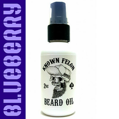 Known Felon 2oz Blueberry Beard Oil