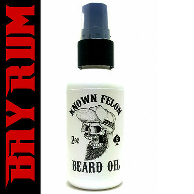 Known Felon 2oz Bay Rum Beard Oil