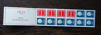 Netherlands 1953 Booklet 12c x 8 1c x 4 MNH