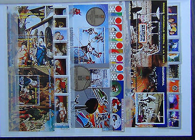 Equatorial Guinea 1972 Space Olympic Games Easter Paintings Miniature Sheets