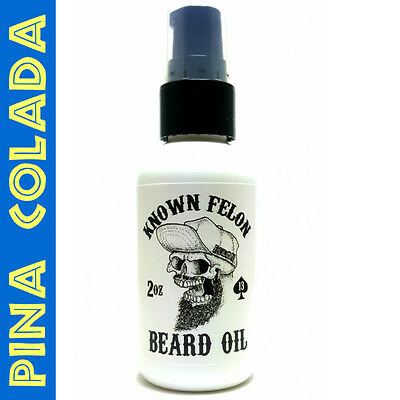 Known Felon 2oz Pina Colada Beard Oil