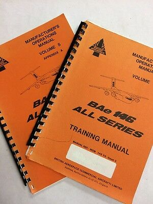 BAe 146 Series Intoduction To Flight Training & Operations Training Manual Vol 5