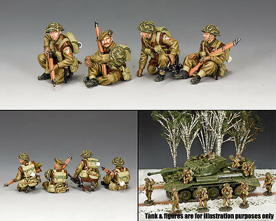 KING AND COUNTRY British Tank Riders Set BBB002 BBB02