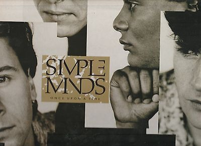 Once Upon A Time by Simple Minds 1985 Original UK Vinyl LP