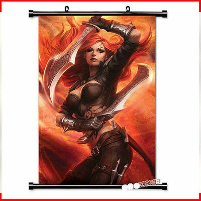League poster scroll paintings
