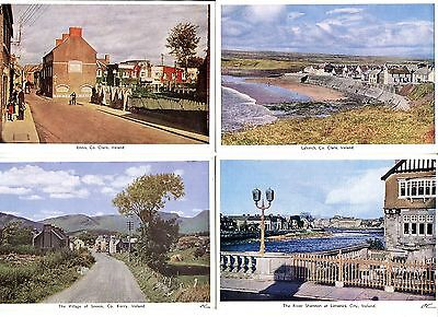 1950's. 38 ASSORTED COLOURED IRISH POSTCARDS. UNUSED, SOME A BIT GRUBBY ON BACKS