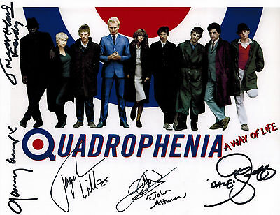 QUADROPHENIA cast Signed 8x10 Autograph Photo - CULT CLASSIC MOVIE THE WHO 3