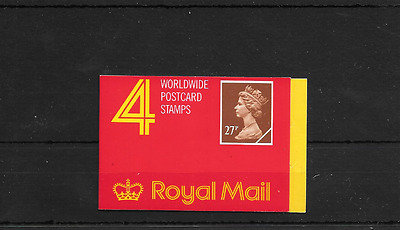 GB 1988 Barcode £1.08 Booklet - GF 2
