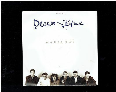 Deacon Blue Wages Day Ps 45 1989