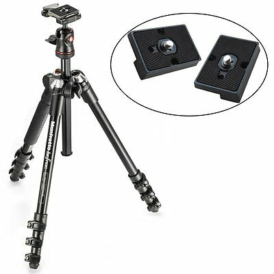 BeFree Compact Lightweight Travel Tripod & Ball Head (Black) & 2 QR Plates