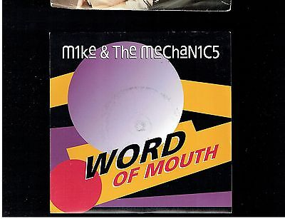 Mike & The Mechanics Word Of Mouth Ps 45 1991