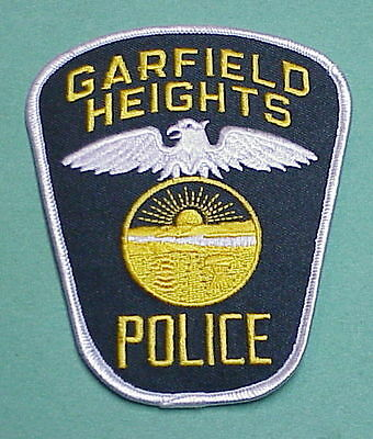 Garfield Heights  Ohio  Oh  ( Silver Border )   Police Patch  Free Shipping!!!