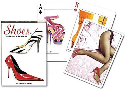 Shoes Fashion and Fantasy set of 52 playing cards + jokers (gib)