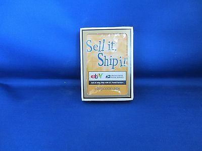 Sell It Ship It Playing Cards - New - Never Used -Ebay Live Las Vegas