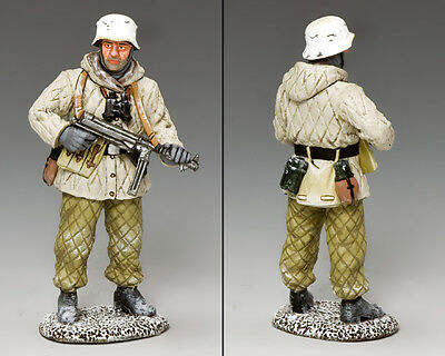 KING AND COUNTRY WW2 German Winter Fallschirmjager BBG100