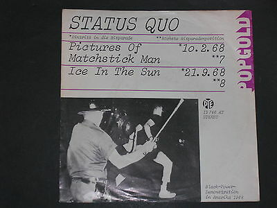7-Nur(Only)Cover-Rock-STATUS QUO-Pictures of Matchstick Man
