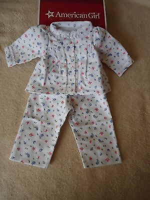 American Girl Emily PAJAMAS with BONUS SLIPPERS from Girl of Today NEW