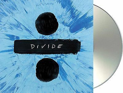 "Ed Sheeran ""÷"" (divide) Deluxe Edition CD + Bonus-Tracks NEU Album 2017"