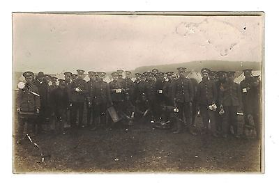 1910 RP Postcard, 5th Lincolnshire Regiment at Buxton