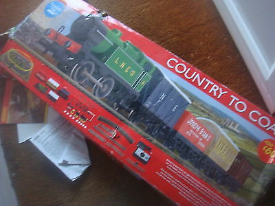 Hornby Train Set OO Scale - Country To Coast - LNER