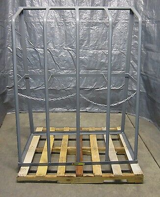 """Little Giant BR244860 Single Sided Vertical Bar Canister Rack 48"""" x 24"""" x 60"""""""