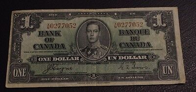 1937 $1 Bank of Canada Coyne Towers X/M F