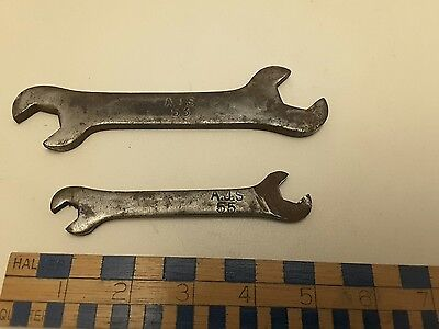 VINTAGE  AJS SPANNERS No 53 & 55