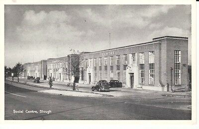 Early SLOUGH Social Centre - vintage cars