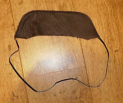 Brown Leather Unbranded Albion Square Cantle Protector
