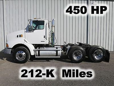 450-Hp Mercedes Daycab Semi Tandem Axle Delivery Road Truck 212-K Low  Miles