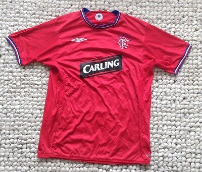Rangers FC #13 Away Football Shirt. Large Adult. Vintage Soccer Jersey