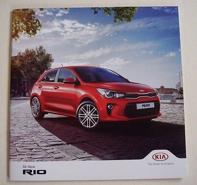 Kia . Rio . All new Rio . February 2017 Sales Brochure
