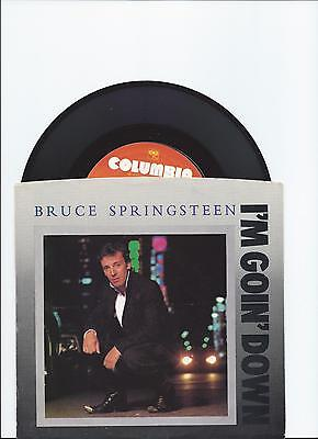 Bruce Springsteen I'm Goin' Down Original Single From Usa