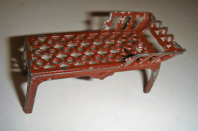 Tiny Metal Chaise For The Dolls House