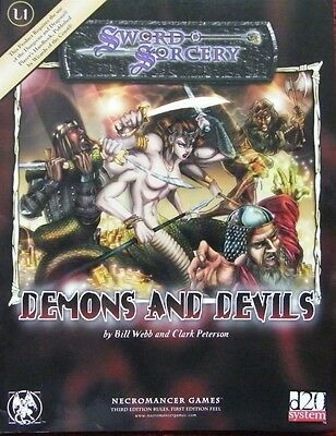 Demons and Devils by Clark Peterson, Bill Webb (Paperback, 2001)
