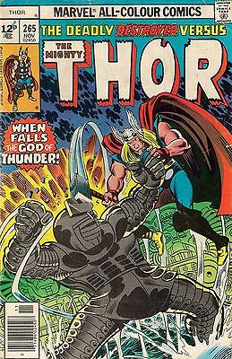 THOR # 265    MARVEL COMIC    1977    f