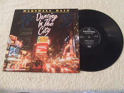 """Marshall Hain......dancing In The City......12"""" P/s..1987........rock / Pop"""