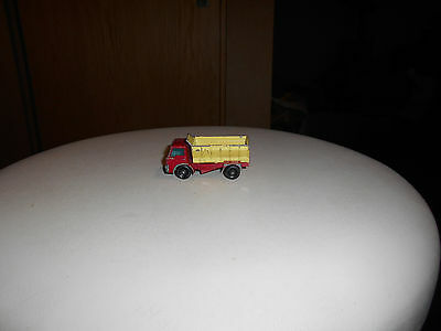 Matchbox 70 England vintage Ford Grit Spreading Truck Top